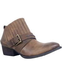 Rebels - Camille Gore Strap Bootie - Lyst
