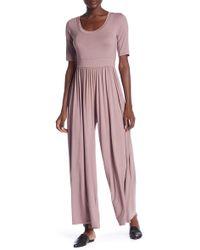 eb411d5d02c5 West Kei - Knit Wide Leg Jumpsuit - Lyst