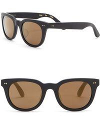 TOMS - 48mm Archie Matte Black Sunglasses - Lyst