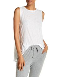 Michelle By Comune | Drape Back Muscle Tee | Lyst