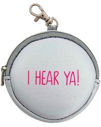MIAMICA - 'i Hear Ya' Iridescent Earbud Case & Keychain - Lyst