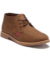 Levi's - Sonoma Wax Chukka Boot - Lyst