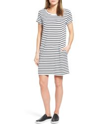 Caslon - Knit Shift Dress - Lyst