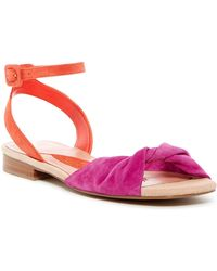B Brian Atwood | Maddie Colorblock Nubuck Sandal | Lyst