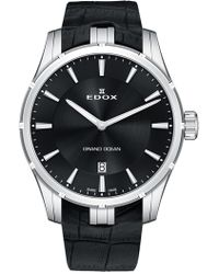 EDOX Watches - Men's Grand Ocean Ultra Quartz Watch, 41mm - Lyst