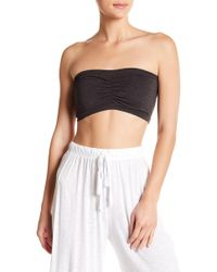 Lamade - Shirred Front Bandeau - Lyst