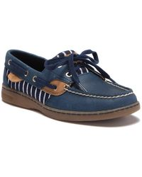 Sperry Top-Sider - Bluefish Print Boat Shoe - Lyst