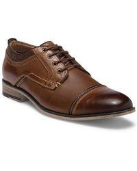 Steve Madden - Kearny Cap Toe Leather Derby - Lyst
