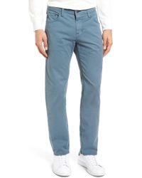 AG Jeans | Matchbox Slim Straight Leg Pant | Lyst