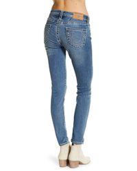 True Religion - Curvy Skinny Jeans - Lyst