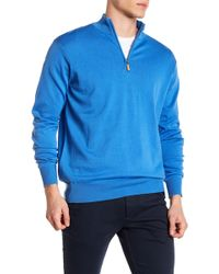 Peter Millar - Coastline Knit Half Zip Pullover - Lyst