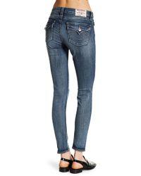True Religion | Flap Pocket Curvy Skinny Jeans | Lyst