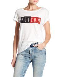 Volcom - Strictly Rad Tee - Lyst