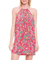 Blush By Profile - Japanika Cover-up Dress - Lyst