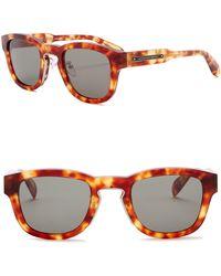 Alexander McQueen - 50mm Square Sunglasses - Lyst