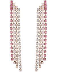 Loren Hope - 18k Gold Plated Petite Drop Earrings - Lyst
