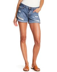 Articles of Society - Behy Ripped Shorts - Lyst
