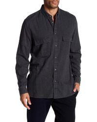 Barney Cools - Worker Stripe Long Sleeve Regular Fit Shirt - Lyst