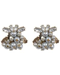 BaubleBar - Beaded Cluster Stud Earrings - Lyst