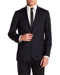 Brooks Brothers - Notch Lapel Two Button Navy Jacket - Lyst