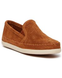 Minnetonka - Pacific Perforated Slip-on Trainer - Lyst