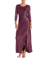 Spense - Side Knot Maxi Dress - Lyst
