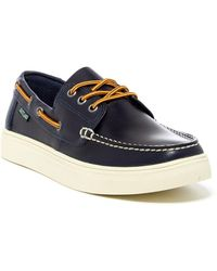 Eastland - Captain Leather Boat Shoe - Lyst