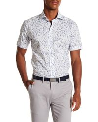 Peter Millar - Smooth Sailin' Refined Fit Short Sleeve Shirt - Lyst