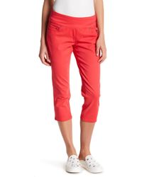 Jag Jeans - Peri Straight Leg Cropped Jeans (petite) - Lyst