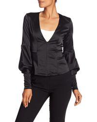 Amanda Uprichard - Murphy Blouson Sleeve Jacket - Lyst