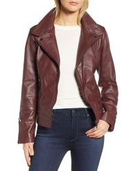 6e8cd5762d0d7 Lyst - Women s Bernardo Leather jackets On Sale