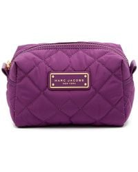 Marc By Marc Jacobs - Quilted Nylon Large Cosmetic Case - Lyst