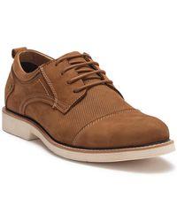 Steve Madden - Goody Leather Cap Toe Oxford - Lyst