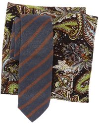 Original Penguin - Hedlund Stripe 3-piece Tie Set - Lyst