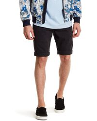 Knowledge Cotton Apparel - Stretch Chino Short - Lyst