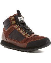 Barbour - Highlands Mid Top Sneaker - Lyst