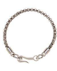 Link Up - Metal Chain Hook Bracelet - Lyst