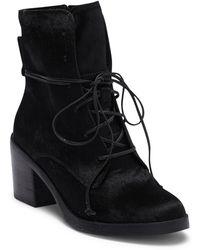 UGG - Oriana Exotic Genuine Calf Hair Block Heel Boot - Lyst
