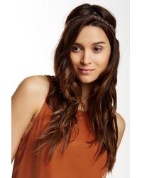 Noir Jewelry - Bead Embellished Elastic Headband - Pack Of 2 - Lyst