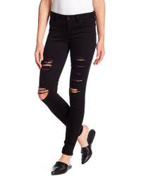 Genetic Denim - Distressed Skinny Jeans - Lyst