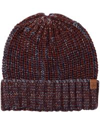Bickley + Mitchell - Contrasting Ribbed Beanie - Lyst
