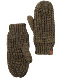 Bickley + Mitchell | Faux Fur Lined Mitts | Lyst