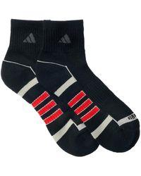Adidas Originals | Climalite Ii Quarter Crew Socks - Pack Of 2 (men) | Lyst