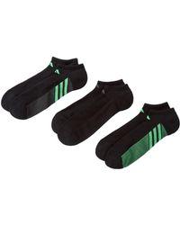 adidas Originals - No Show Superlite Socks - Pack Of 3 (men) - Lyst