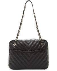 Zenith - Quilted Leather Shoulder Bag - Lyst