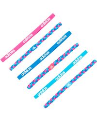 adidas Originals - Fighter Graphic Hairband - Pack Of 6 - Lyst