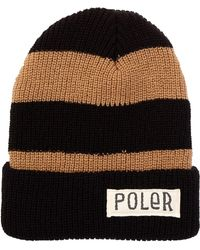 Poler Stuff - Workerman Stripe Beanie - Lyst