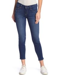 PAIGE - Verdugo Mid-rise Ultra Skinny Petite Jeans - Lyst