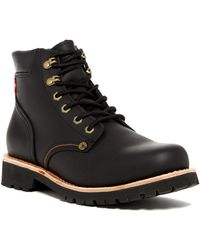 Levi's - Compass Leather Boot - Lyst