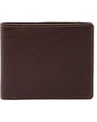 Boconi - Tyler Tumbled Leather Billfold Wallet - Lyst